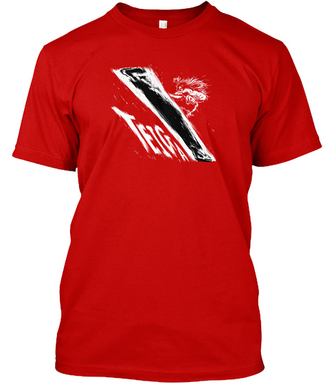 Teiga Classic Red T-Shirt Front
