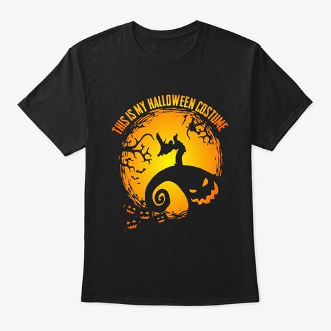 Jiu Jitsu Halloween Gifts This Is My  Black T-Shirt Front
