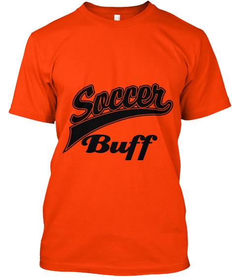 Buff Orange T-Shirt Front
