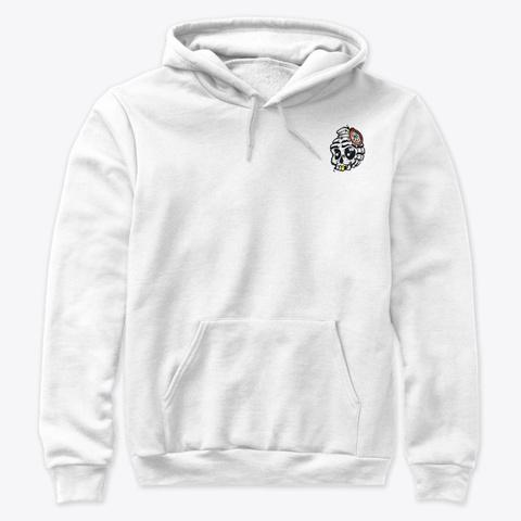 Limited Fragz Vr Merch White T-Shirt Front