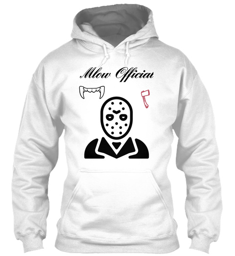 Mlow Official White T-Shirt Front