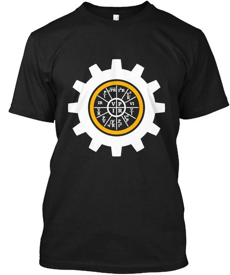 Vipr  Black T-Shirt Front