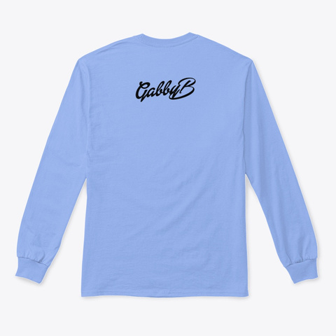 """Wear Whatever The Hell You Want"" Light Blue T-Shirt Back"