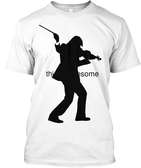 This Is Awesome White T-Shirt Front