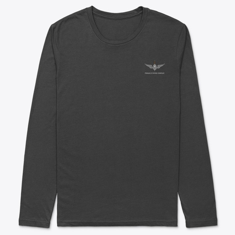 Pdc Long Sleeve Work Well Black T-Shirt Front