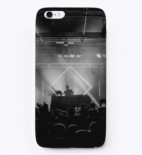 I Phone Case: Live Show Black T-Shirt Front