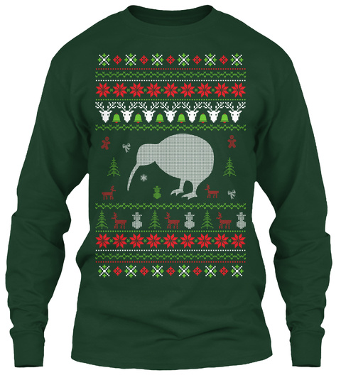 Kiwi Bird Ugly Christmas Sweater Products from Ugly Christmas ...