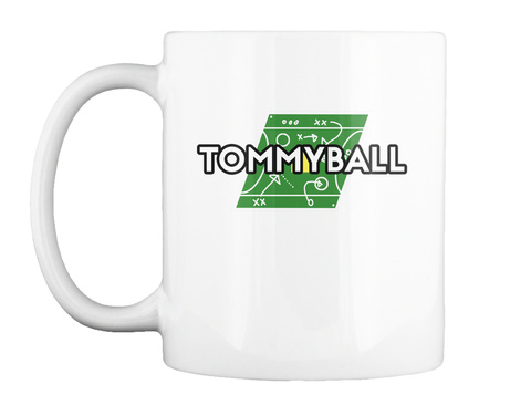 Tommyball White T-Shirt Front