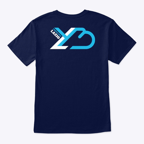Ybl T Shirt Blu Navy T-Shirt Back