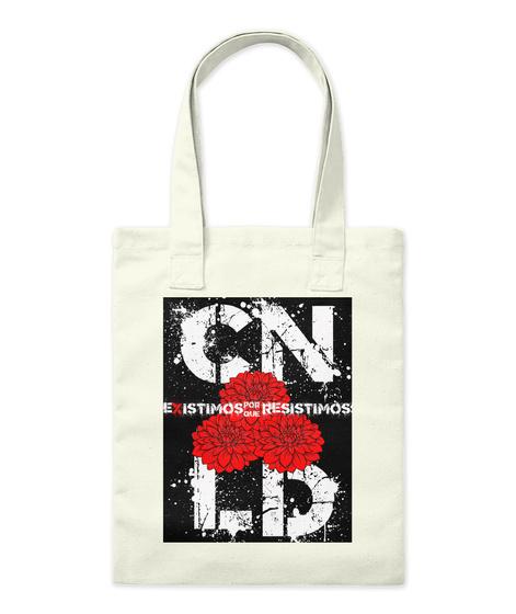 Cn Lb Existmos Porque Resistimos Natural Tote Bag Front