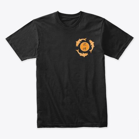 Bujinkan Dojo Kun Black T-Shirt Front