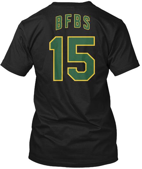 Uni Watch: Bfbs Black T-Shirt Back