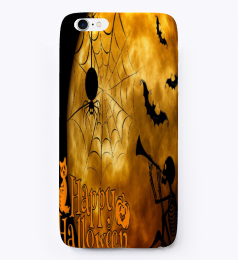 Halloween Special Iphone Case Black áo T-Shirt Front