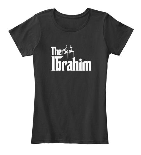 Ibrahim The Family Tee Black T-Shirt Front