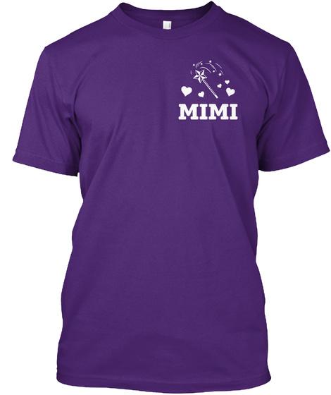 Mimi Purple T-Shirt Front
