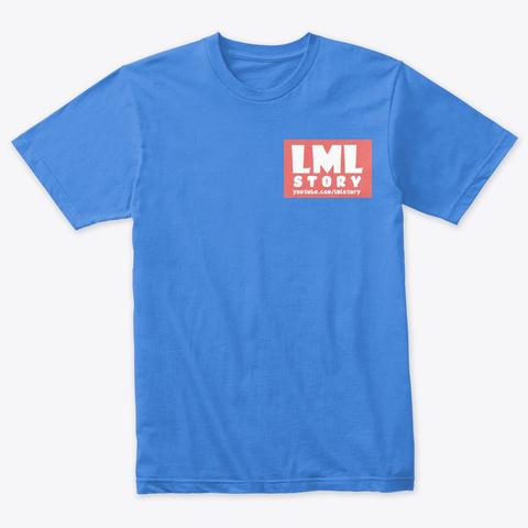 Lml Story  Vintage Royal T-Shirt Front