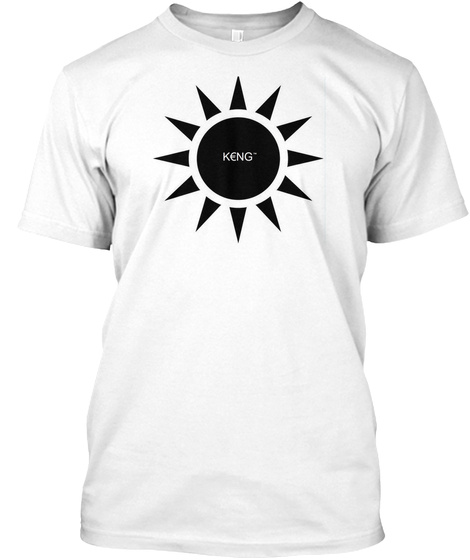 Kēng Anthony Apparel White T-Shirt Front