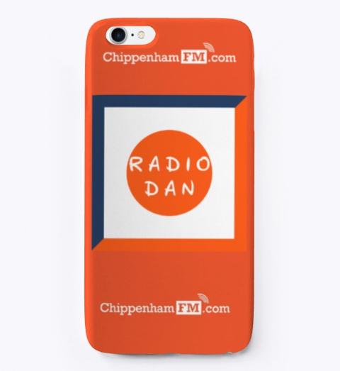 Radio Dan Phone Red T-Shirt Front