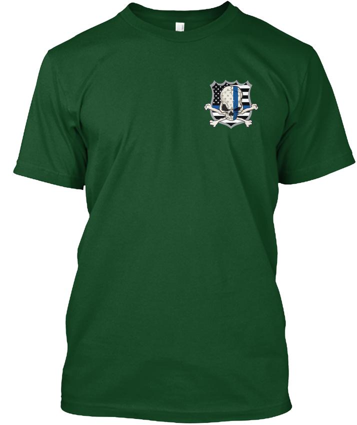 American-Sheepdog-Police-ending-I-May-Walk-Among-Hanes-Tagless-Tee-T-Shirt thumbnail 6