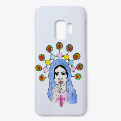 Sweet And Sacred Samsung Case White T-Shirt Front