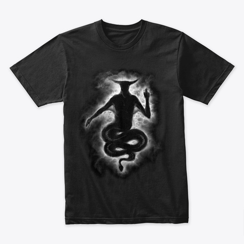 """Baphomet369"" Design! Black T-Shirt Front"