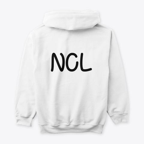 Ncl Lewd Edition White T-Shirt Back