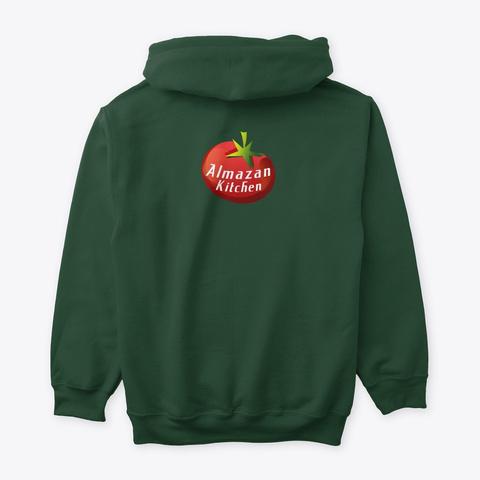 Almazan Kitchen Official Merchandise Forest Green T-Shirt Back