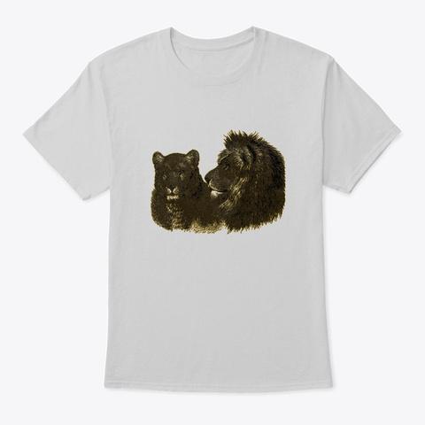 Lions Pride Light Steel T-Shirt Front