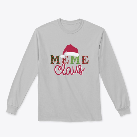 Meme Claus   Limited Time Only Sport Grey T-Shirt Front