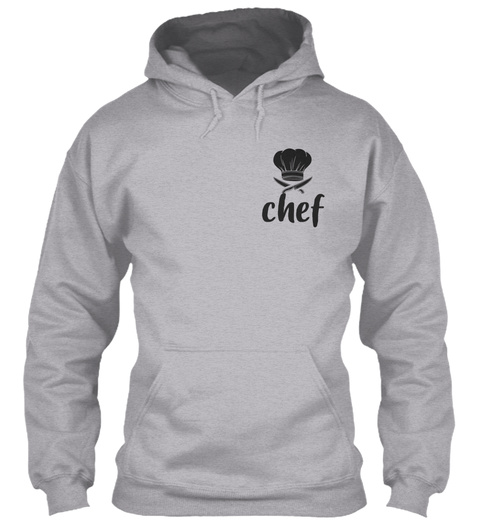 Chef  Love What You Do Sport Grey T-Shirt Front
