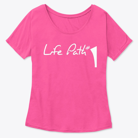 Life Path 1 Berry  T-Shirt Front
