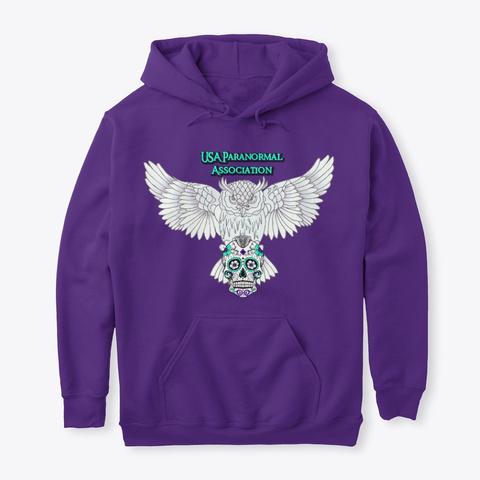 Usapa 2019 Full Color Logo Purple T-Shirt Front
