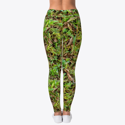 Real Looking Camouflage  Camo Leggings Standard T-Shirt Back