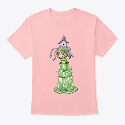 The Pig Queen Pale Pink T-Shirt Front