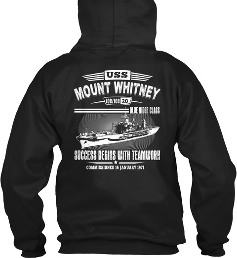 [Ltd. EDITION] USS MOUNT WHITNEY TSHIRT LongSleeve Tee