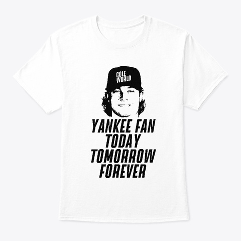 Cole World White T-Shirt Front
