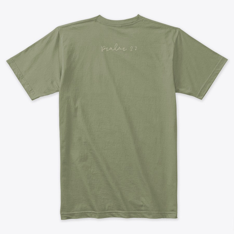 Emily Collection Light Olive T-Shirt Back