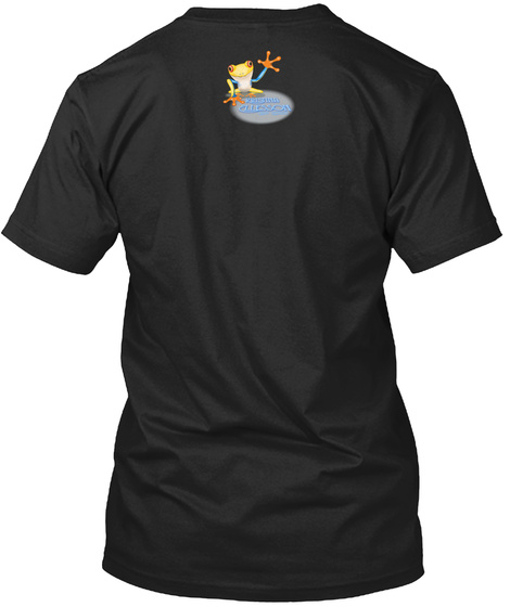 Chilled Ellesson Black T-Shirt Back