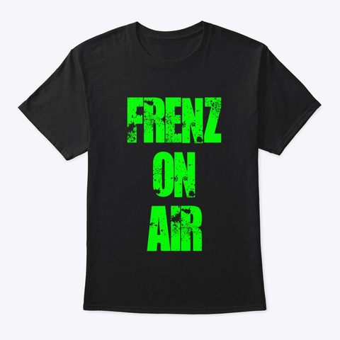 Frenz On Air Black Kaos Front