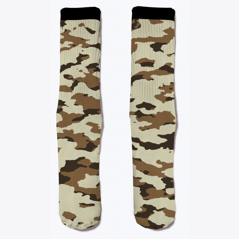 Military Camouflage   Arid Desert Iii Standard T-Shirt Front