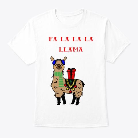 Llama Christmas Shirt.Fa La La La Llama Funny Christmas Shirt