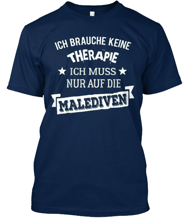 malediven-Therapie-T-shirt-Elegant