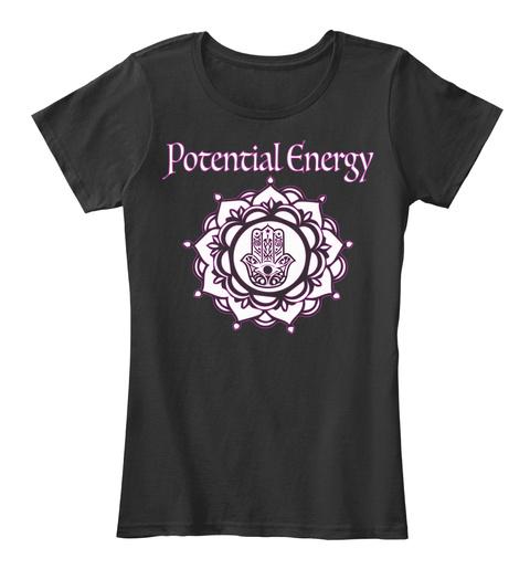 Potential Energy Black Camiseta Front