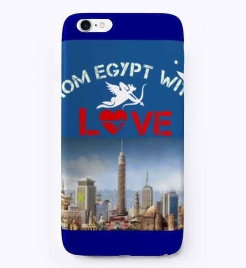 From Egypt With Love  Deep Navy T-Shirt Front
