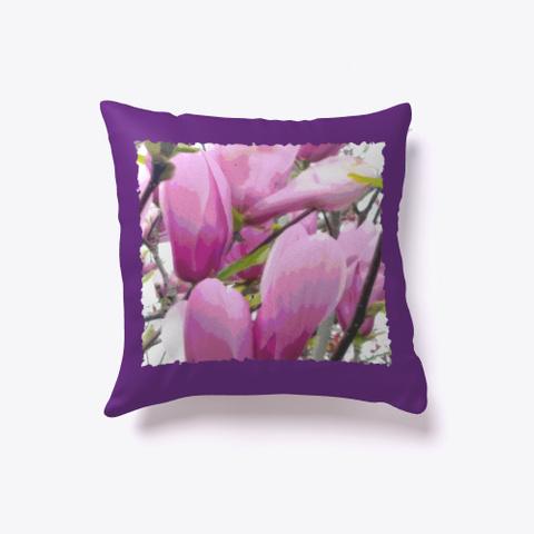 Blossoms Pastel Petals Light Purple  Purple T-Shirt Front