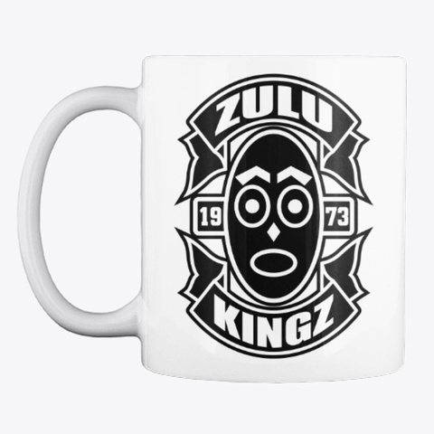 Kingz Watcher Mug   Earned Not Given White T-Shirt Front