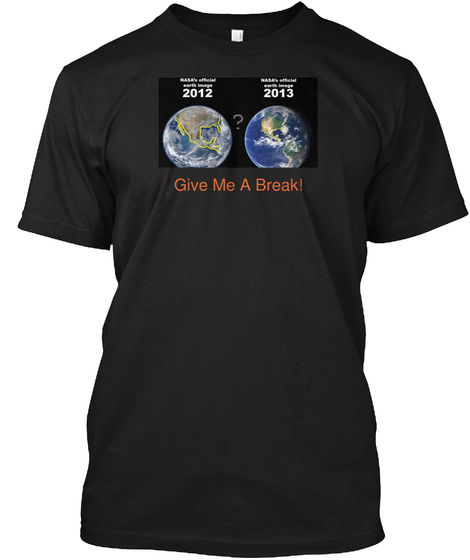 Give Me A Break Black T-Shirt Front