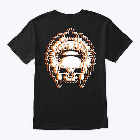 """""""Shamans"""" Black T-Shirt Back"""