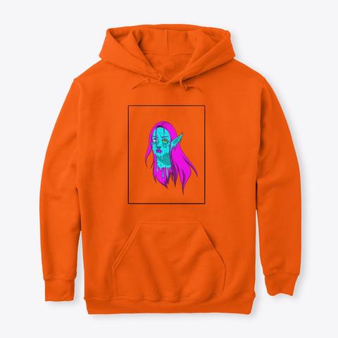 Neon Demon Safety Orange T-Shirt Front