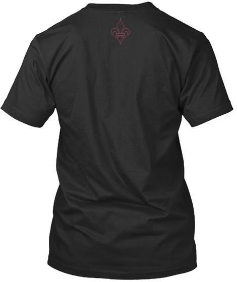 New Orleans Fire Department  Black T-Shirt Back